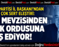 """Vatan Partisi'nden açıklama: TÜRK ASKERİNİN APOLETİNİ SÖKECEK…"""""""
