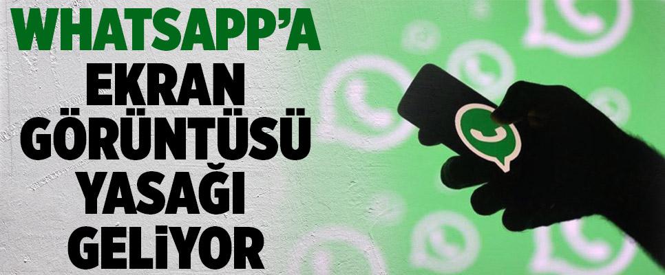 WhatsApp'a Yasak Geliyor