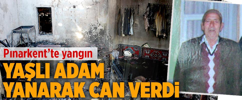 Pınarkent'te Yangın: 1 Ölü