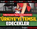 Futbol Oynayan Yapay Zekalı Robotlarıyla Türkiye'yi Temsil Edecekler