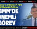 İYİ Parti Denizli Milletvekili Öztürk'e Mecliste Önemli Görev