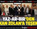 YAZ-AR-BİR'den Başkan Zolan'a teşekkür
