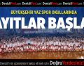 Büyükşehir Yaz Spor Okulları kayıtları başladı