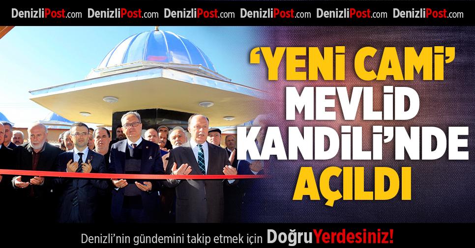 'Yeni Cami' Mevlid Kandili'nde Açıldı