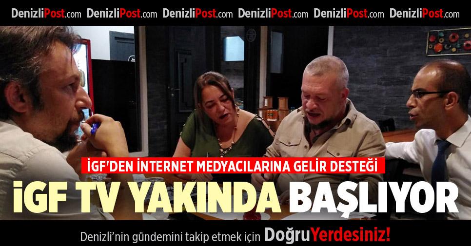 İGF'DEN İNTERNET MEDYACILARINA GELİR DESTEĞİ