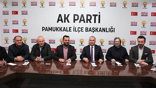 yonetim2 - AK Parti Pamukkale İlçe Başkanı Gökbel: Zolan'la Yükseliş Sürecek