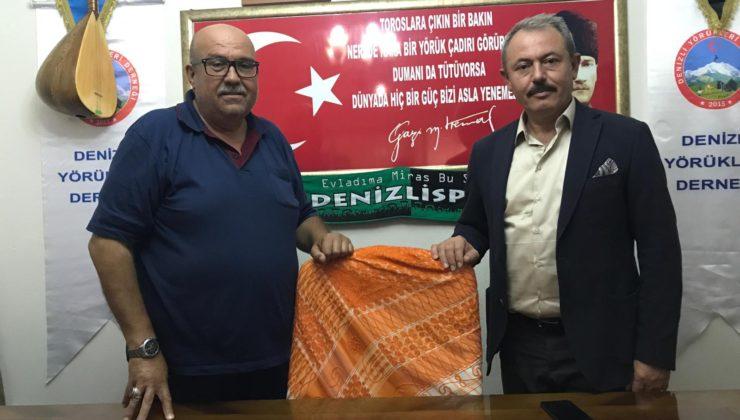 AK Partili Şahin Tin, Denizli Yörükleri Derneğini ziyaret etti.