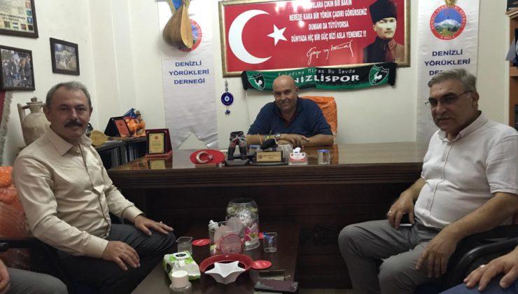 yoruklerdernegi1 740x420 - AK Partili Şahin Tin, Denizli Yörükleri Derneğini ziyaret etti.