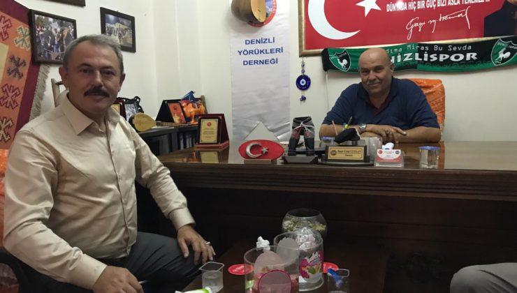 yoruklerdernegi4 740x420 - AK Partili Şahin Tin, Denizli Yörükleri Derneğini ziyaret etti.