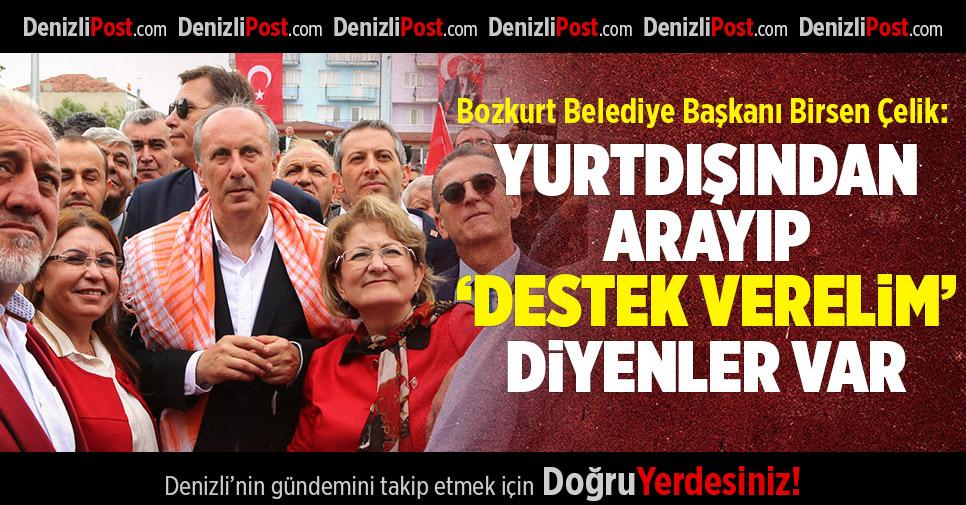 """Bozkurt Belediye Başkanı Birsen Çelik; """"Yurtdışından arayıp 'destek verelim' diyenler var"""""""
