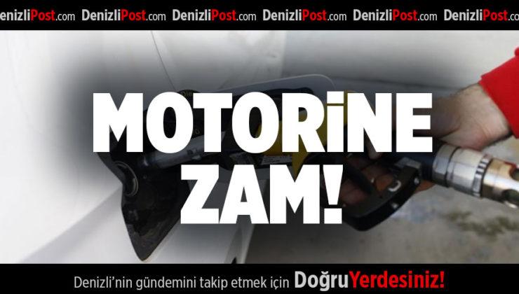 MOTORİNE ZAM