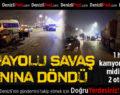 Zeybek Köprülü Kavşağında Zincirleme Trafik Kazası