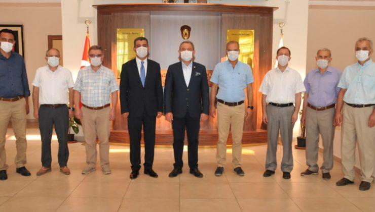 Milletvekili Şahin Tin İl Milli Eğitim Müdürlüğünü ziyaret etti.